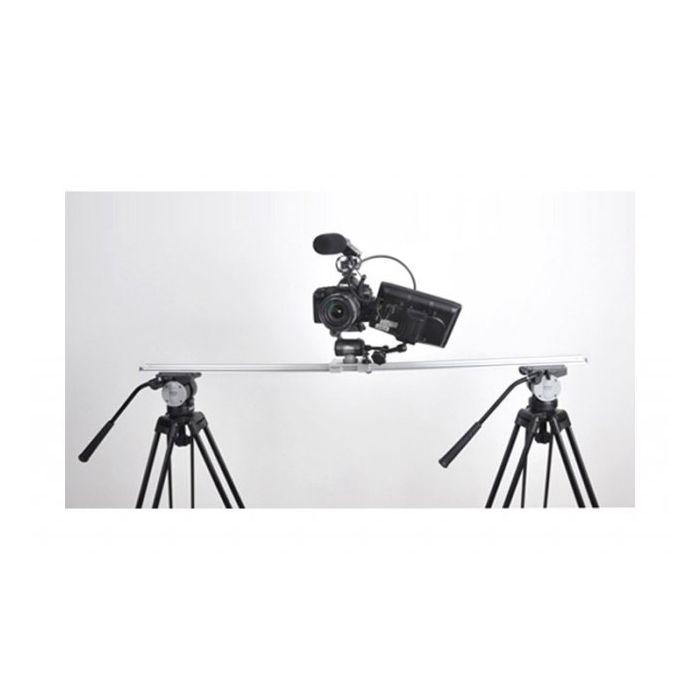SEVENOAK SLITTA BINARIO CON CARRELLO CAM SLIDER (120 cm) Binario in alluminio SEV SK-GT02