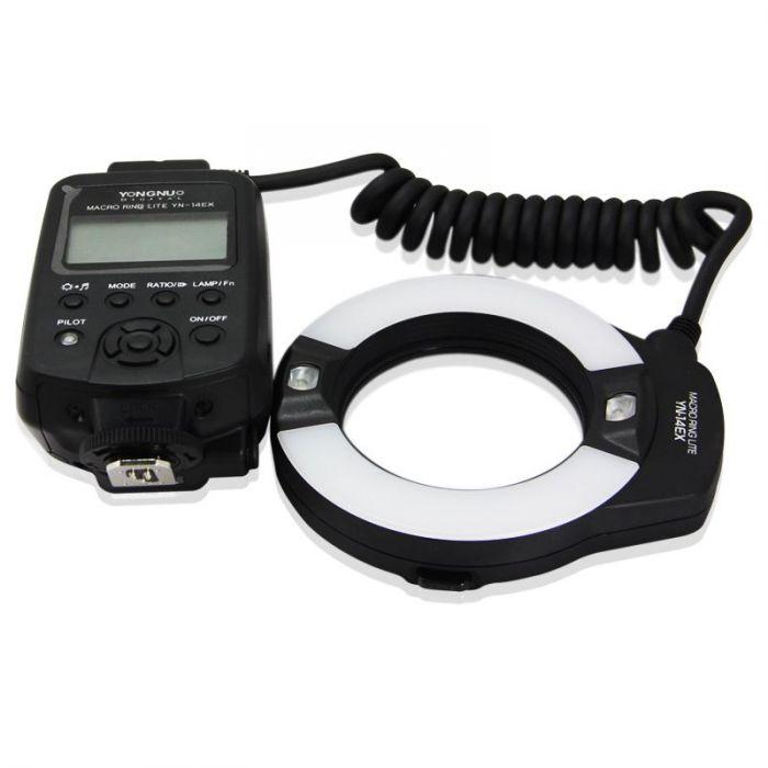 YONGNUO YN-14EX TTL Macro Ring Lite Flash Light x fotocamera Canon