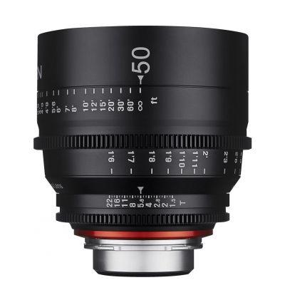 Obiettivo Samyang Xeen 50mm T1.5 x Canon Lens
