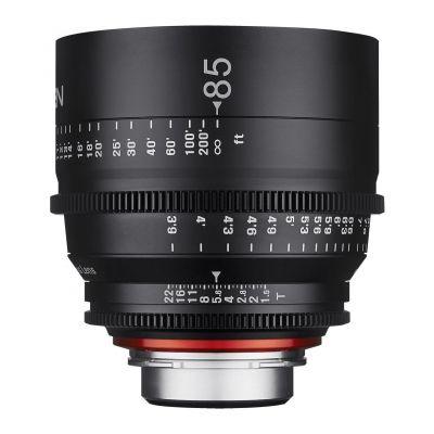 Obiettivo Samyang Xeen 85mm T1.5 x Canon Lens