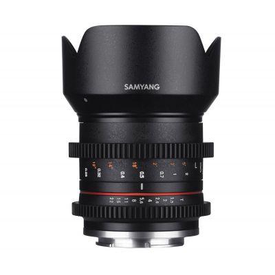 Obiettivo Samyang 21mm T1.5 ED AS UMC CS x Canon EOS M