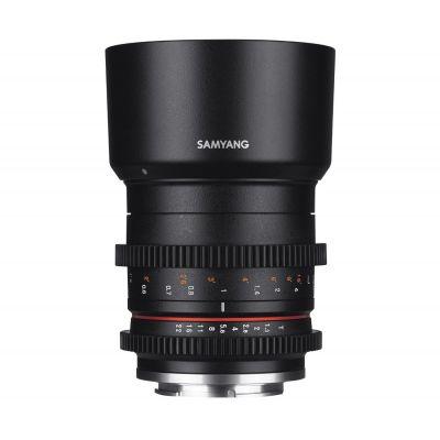 Obiettivo Samyang 50mm T1.3 AS UMC CS x Micro Quattro Terzi