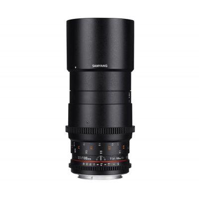 Obiettivo Samyang 100mm T3.1 VDSLR ED UMC MACRO x Canon