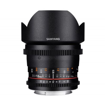 Obiettivo Samyang 10mm T3.1 ED AS NCS CS VDSLR II x Canon