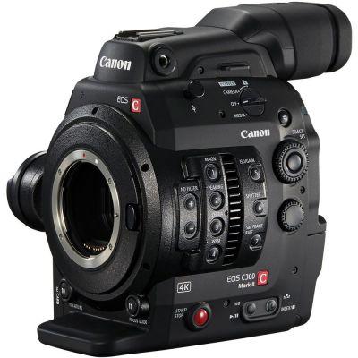 Videocamera Canon EOS C300 Mark II Camera body solo corpo (EF mount) camcorder