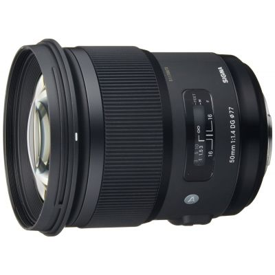 Obiettivo Sigma 50mm F1.4 DG HSM Art x Sony A-Mount