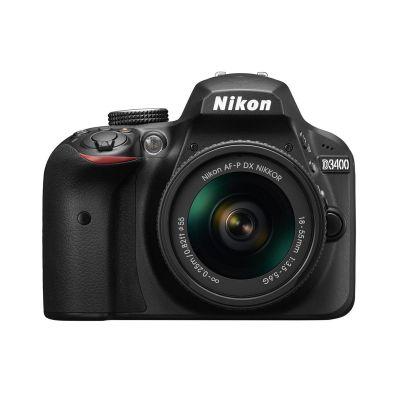 Fotocamera Nikon D3400 Kit AF-P 18-55mm VR Nero