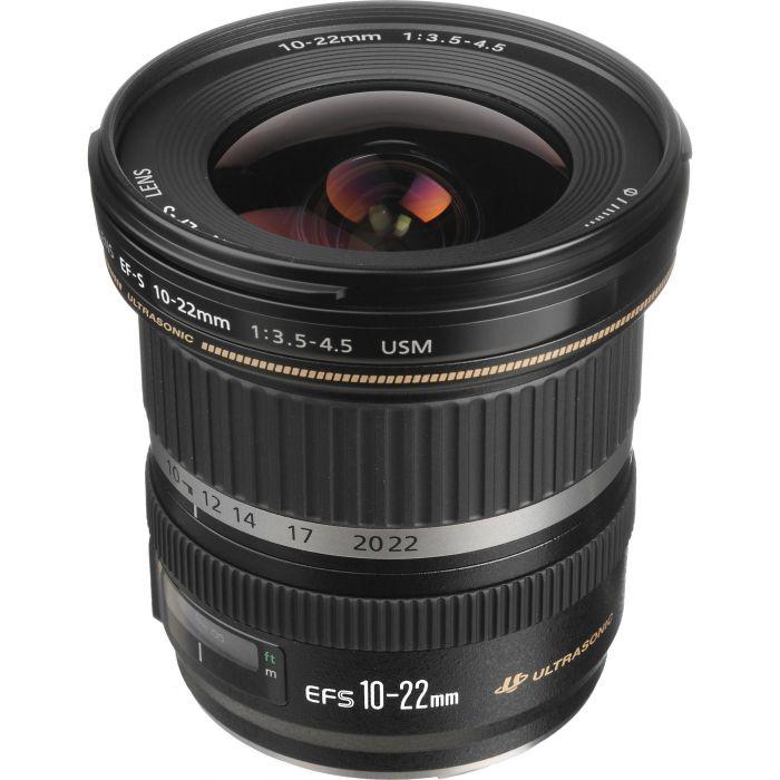 OBIETTIVO Canon 10-22mm f/3.5-4.5 USM PRONTA CONSEGNA