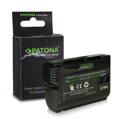 Patona Premium Batteria EN-EL15 x Nikon D750 D810 D610 D7200 D7100 D7000 D600 D800 D800E