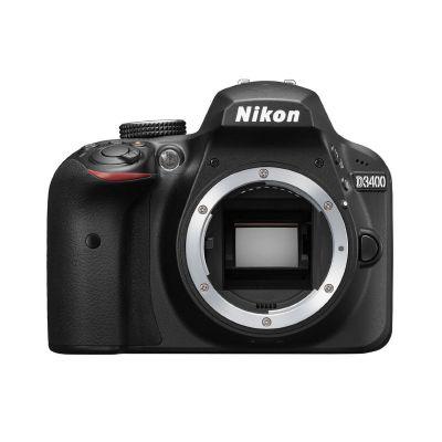 Fotocamera Nikon D3400 body solo corpo nero
