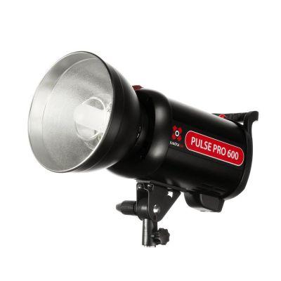 Quadralite Pulse PRO 600W Luce Lampeggiatore Flash da Studio