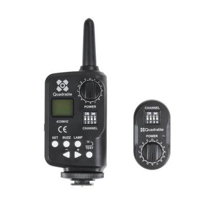 Quadralite Navigator Trigger Flash trasmettitore + ricevitore per flash da studio