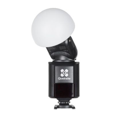 Quadralite Light-dome wide angle diffusore per flash Reporter