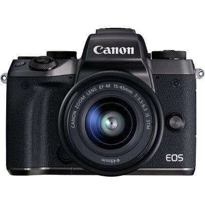 Fotocamera Canon EOS M5 kit 15-45mm Nero