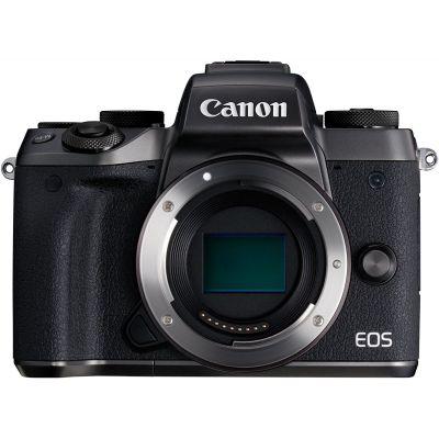 Fotocamera Canon EOS M5 body (kit box) solo corpo nero