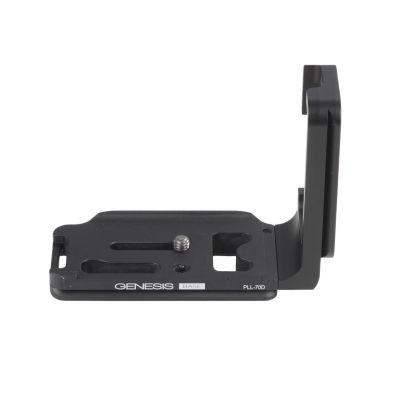 Genesis Base PLL-70D piastra ad L per Canon EOS 70D