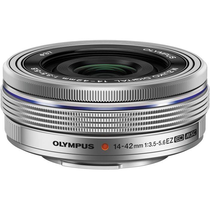 Obiettivo Olympus M.ZUIKO ED 14-42mm F3.5-5.6 EZ Silver PRONTA CONSEGNA