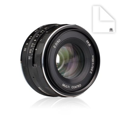 Obiettivo Meike MK-50mm F2 per Fuji Fujifilm X mount