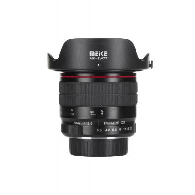 Obiettivo Meike MK-8mm F3.5 per Fuji Fujifilm X mount