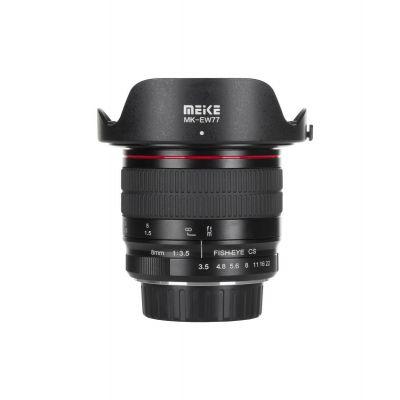 Obiettivo Meike MK-8mm F3.5 per Sony E-Mount