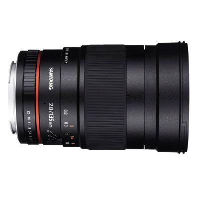 Obiettivo Samyang 135mm F2.0 per Sony E-Mount
