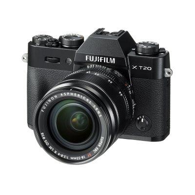 Fotocamera Fuji Fujifilm X-T20 Kit 18-55mm F2.8-4 R LM OIS Nero