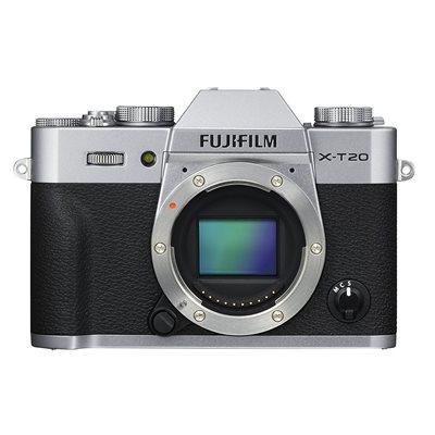 Fotocamera Fuji Fujifilm X-T20 Body solo corpo Argento Silver