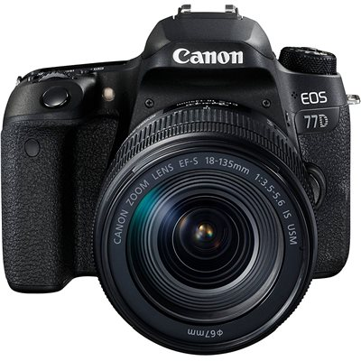 Fotocamera Canon EOS 77D Kit 18-135mm IS NANO USM