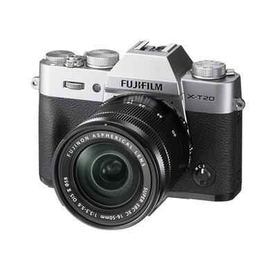 Fotocamera Fuji Fujifilm X-T20 Kit 16-50mm F3.5-5.6 OIS II Argento Silver