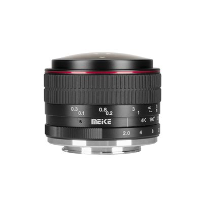 Obiettivo Grandangolare Fisheye Meike MK-6.5mm F2.0 per Fujifilm Fuji X mount