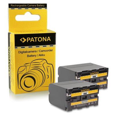 Patona Doppia Batteria Sony NP-F970 NP-F960 F970 F960