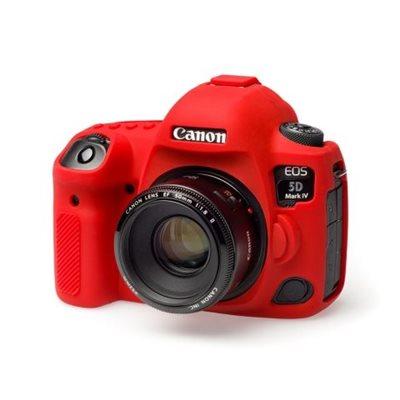 Custodia Protettiva in silicone per Canon 5D mark 4 EasyCover Rosso