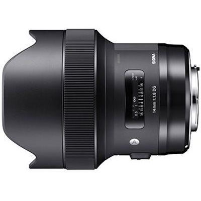 Obiettivo Sigma 14mm F1.8 DG HSM Art per Canon