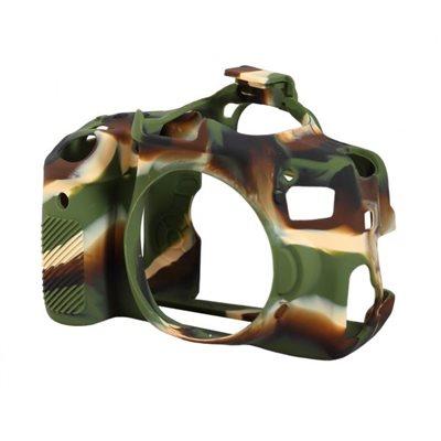 Camera case protettivo EasyCover custodia morbida in silicone per Canon 650D 700D Camouflage