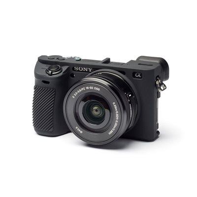 Camera case morbido EasyCover custodia soft in silicone per Sony A6500 Nero