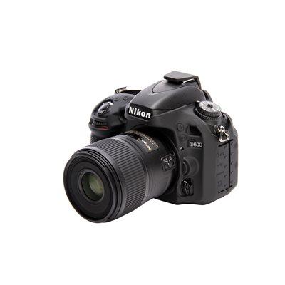 Camera case EasyCover custodia soft protettiva in silicone morbido per Nikon D600 D610 Nero
