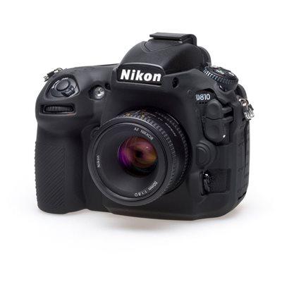 Camera case in silicone EasyCover custodia morbida protezione per Nikon D810 Nero