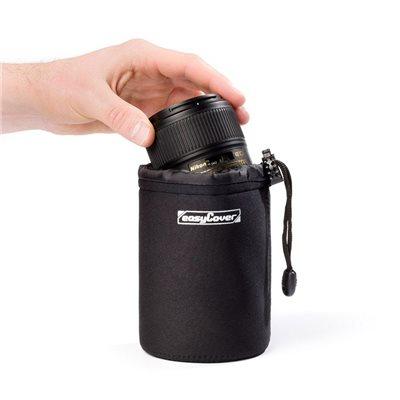 Custodia protettiva per obiettivo EasyCover lens case large nero