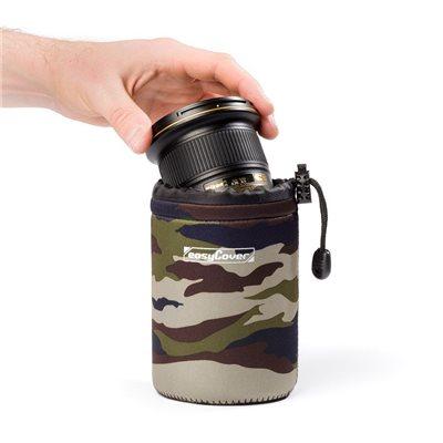 EasyCover custodia lens case protezione per obiettivo medium camouflage