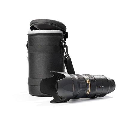 Lens bag borsa protettiva custodia per obiettivo EasyCover dimensioni 105x160mm nero