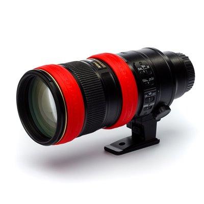 Anello protezione per obiettivo EasyCover lens ring in silicone rosso
