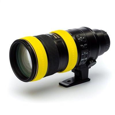 Anello per obiettivo EasyCover lens ring di protezione in silicone giallo