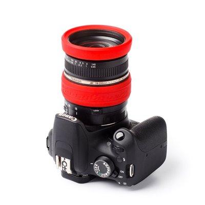 EasyCover lens rim anello paraurti in silicone per obiettivo protezione 67mm rosso