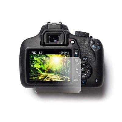 EasyCover protezione schermo LCD in PET screen protector per Canon 80D 77D