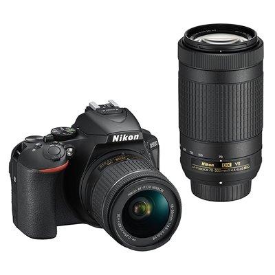 Fotocamera Nikon D5600 Kit AF-P 18-55mm + AF-P 70-300mm