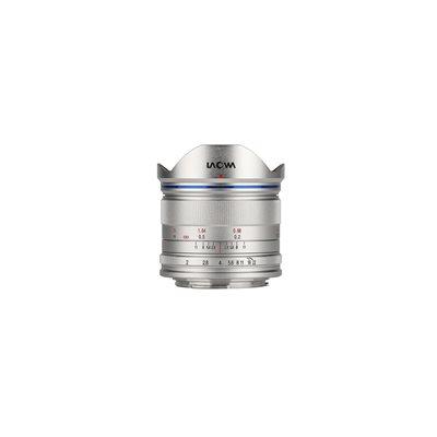 Obiettivo Laowa Venus Optics lente 7.5mm f/2 per Micro Quattro Terzi Argento