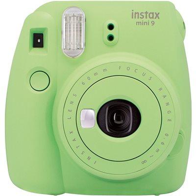 Fujifilm Instax Mini 9 Lime Green Fotocamera Istantanea 62x46mm Verde