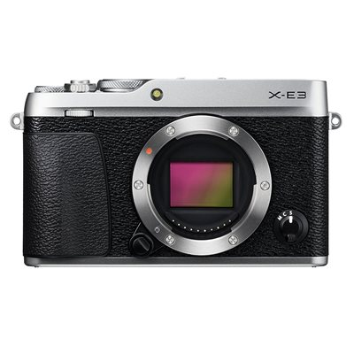 Fotocamera Fuji Fujifilm X-E3 body solo corpo Argento Silver XE-3 XE3