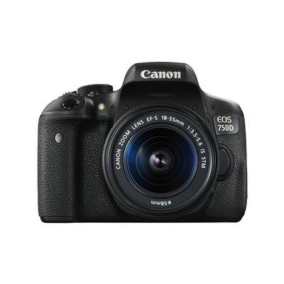 Fotocamera Canon EOS 750D Reflex Kit 18-55mm IS STM Garanzia Italia 2 anni