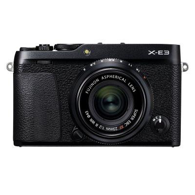 Fotocamera Fuji Fujifilm X-E3 Kit obiettivo 23mm f2 Nero XE-3 XE3